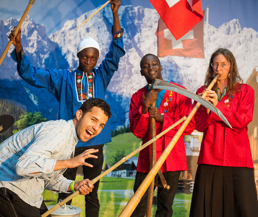 Swiss Night at the International Physics Olympiad 2016